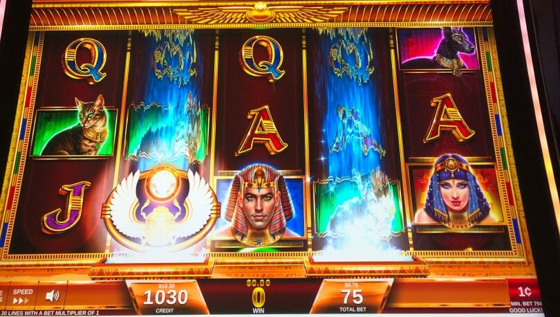 Magic of the Nile by IGT special symbol lands