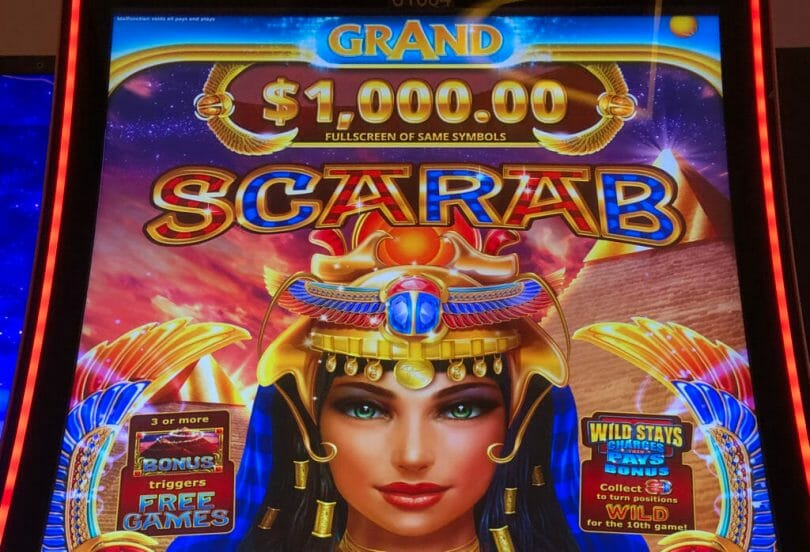 Scarab Grand by IGT top jackpot