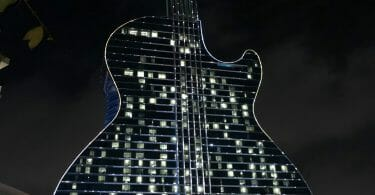 Seminole Hard Rock in Hollywood Florida guitar hotel