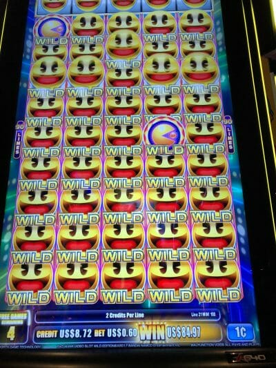 Pac Man Wild Edition by ainsworth full screen wilds free spins