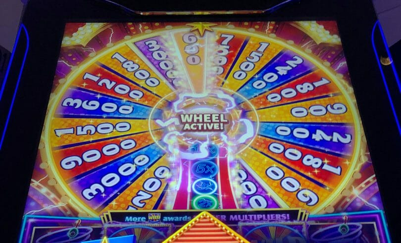 Quick Spin Super Lit Vegas by Ainsworth wheel spin outcome