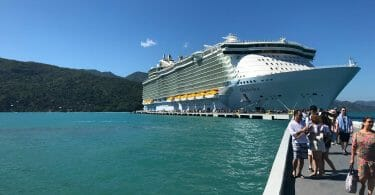 Oasis of the Seas in Labadee, Haiti