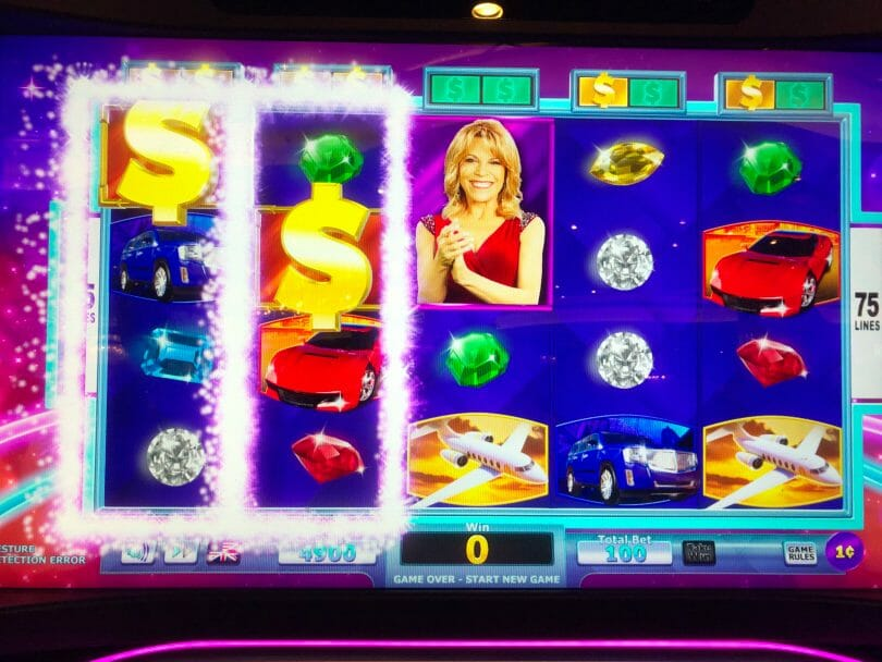 Wheel of Fortune 4D by IGT first two reels wild