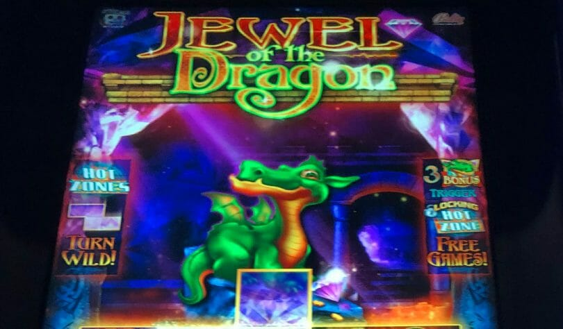 Jewel of the Dragon by Bally top box