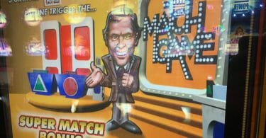Match Game by WMS top box