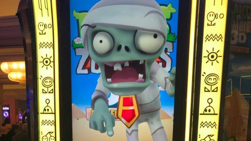 Plants vs Zombies 3D by Spielo monster