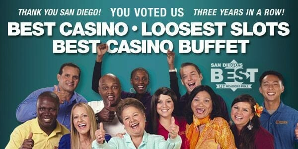 Voted loosest slots example