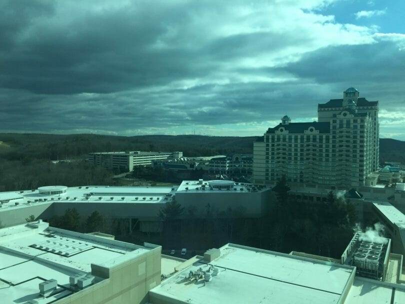 Foxwoods view from the Fox Tower