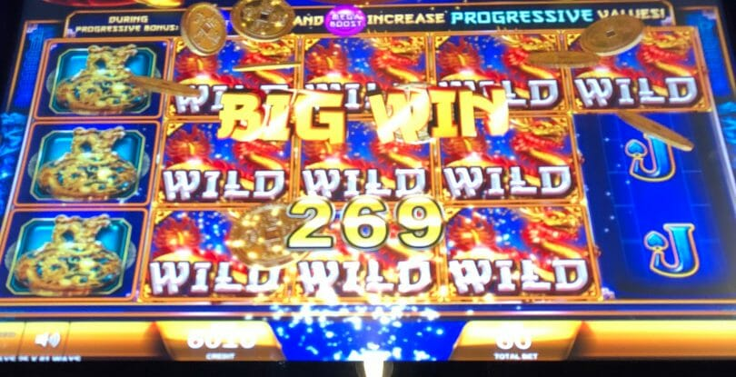 Fortune Coin by IGT big win line hit