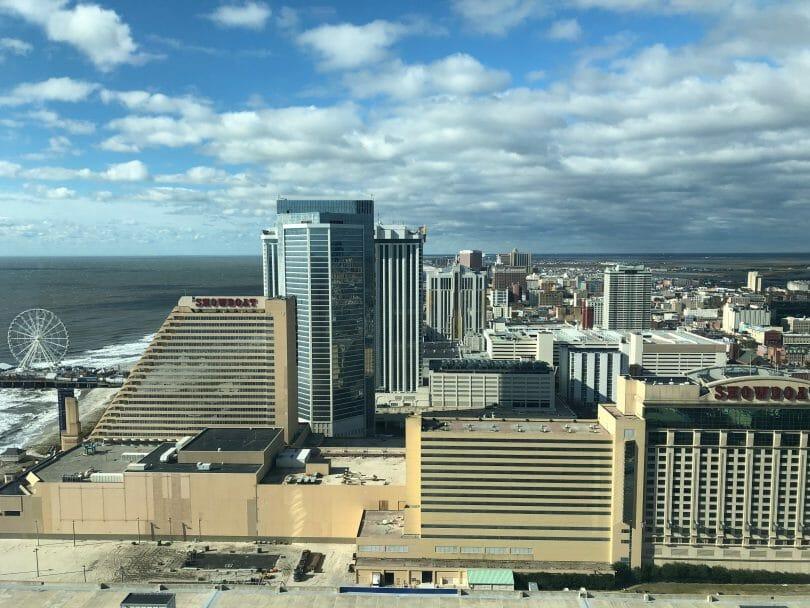Ocean Casino Resort looking south