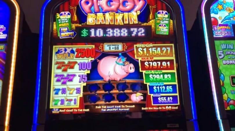 Piggy Bankin' by WMS one Piggy left