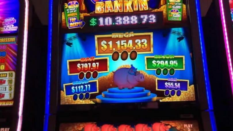 Piggy Bankin' by WMS progressive pick