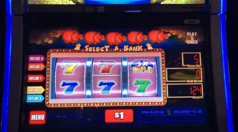 Piggy Bankin' by WMS select a bank