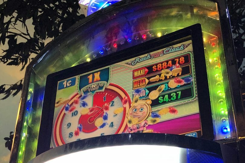 Rock Around the Clock by Konami early clock big win