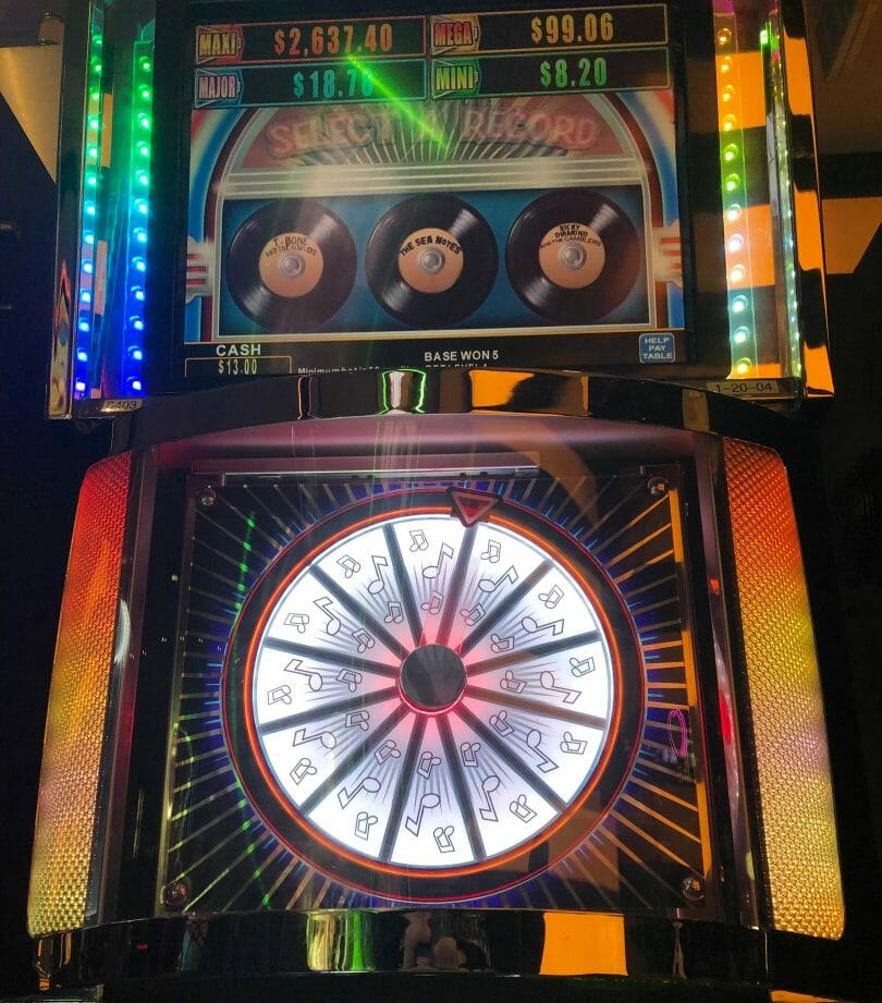 Rock Around the Clock by Konami Jukebox Riches feature