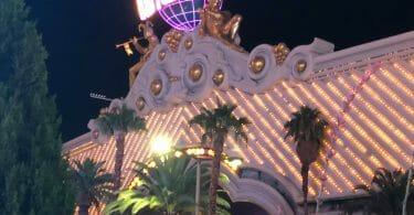 Harrah's Las Vegas at night