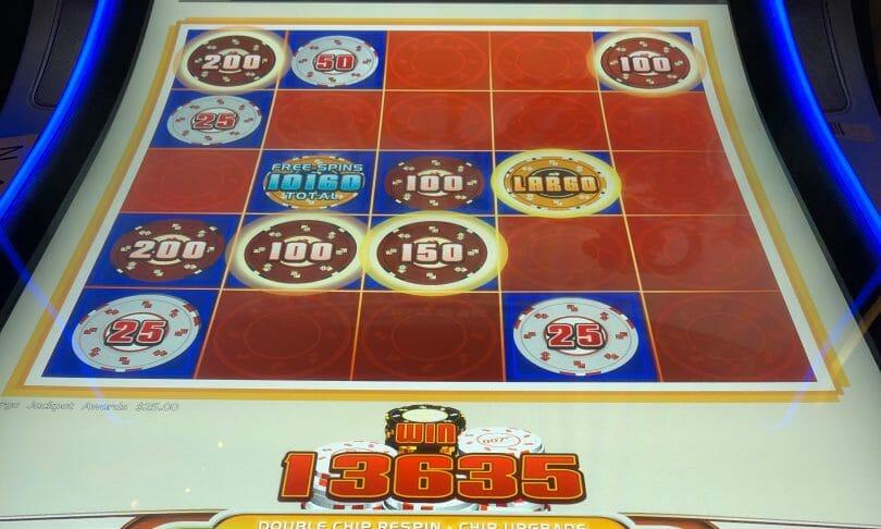Thunderball by Scientific Games chip bonus