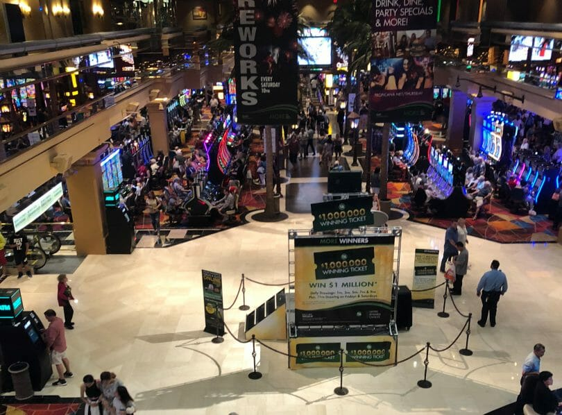 Tropicana Atlantic City casino floor