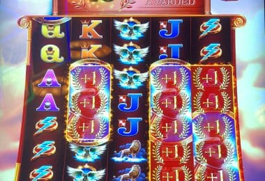Zeus Unleashed by WMS 13 free spins bonus