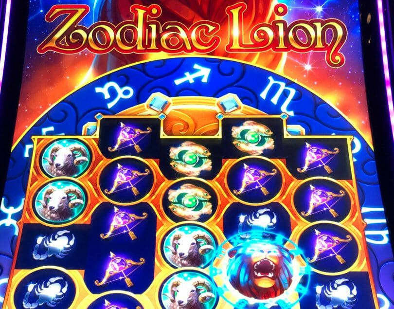 Zodiac Lion by IGT hero