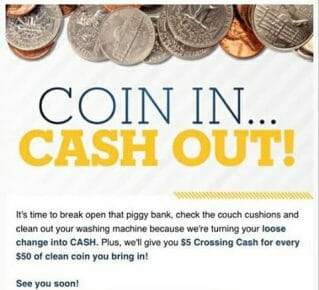 Casino email offer to buy change