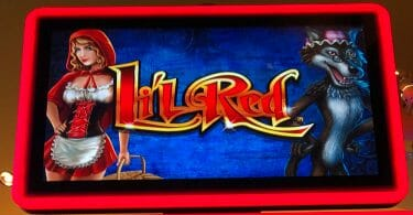 Lil Red Super Colossal Reels by Scientific Games logo