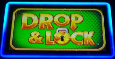 Drop & Lock by Scientific Games logo