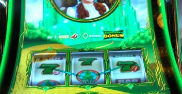 Wizard of Oz Emerald City by Scientific Games line hit