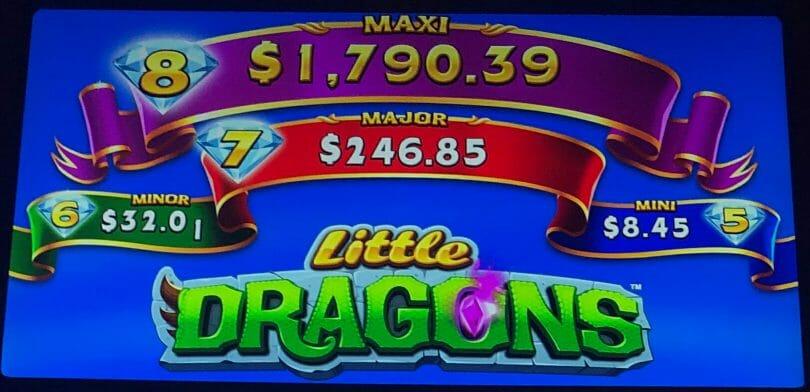 Little Dragons by WMS progressives
