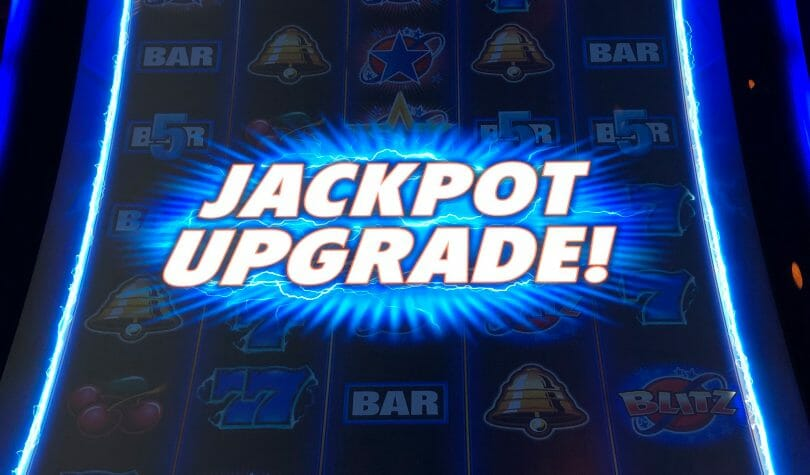 Quick Hit Blitz by Scientific Games jackpot upgrade