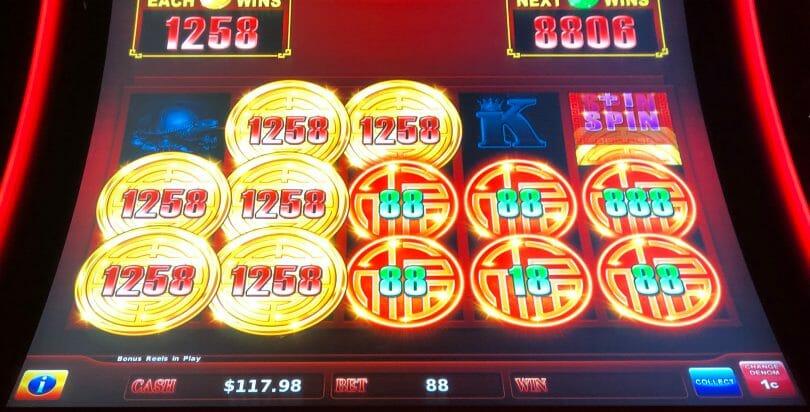 Rising Fortunes by Scientific Games 100x top up bonus