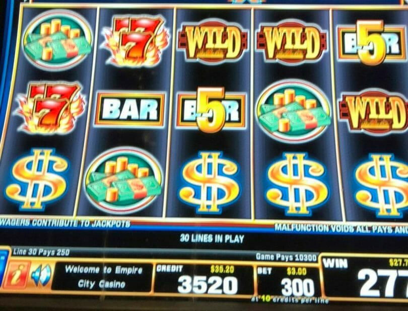Quick Hit Riches Triple Blazing 7s Wild by Bally