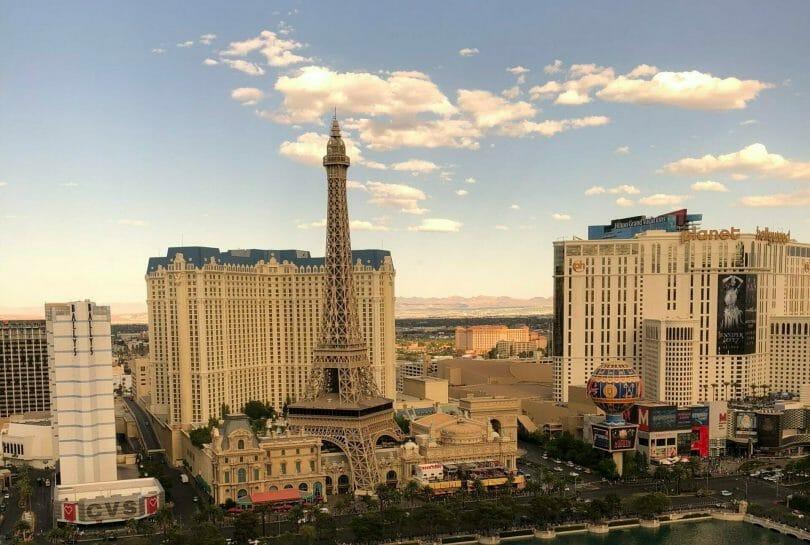 Paris Las Vegas from Bellagio