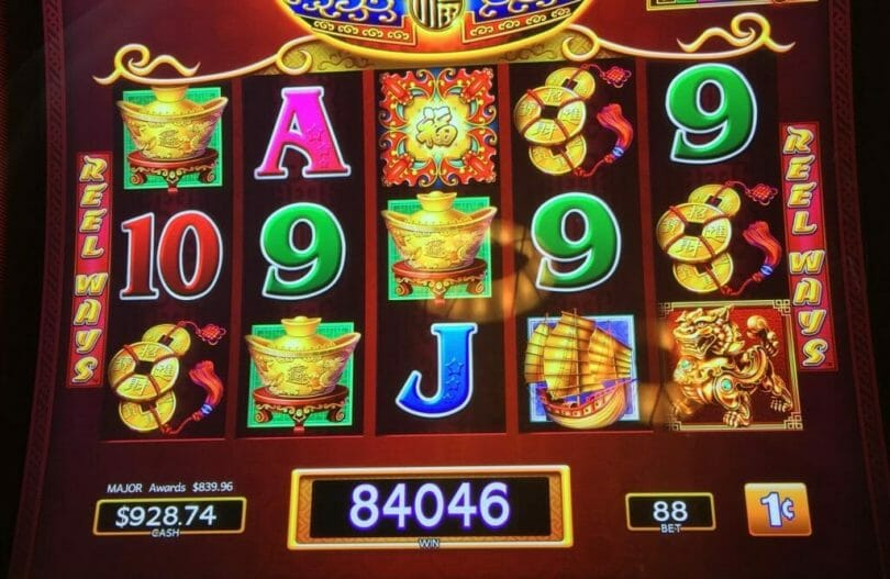 Dancing Drums major win at Foxwoods