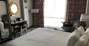 Paris Las Vegas hotel room