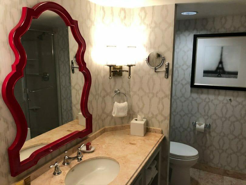 Paris Las Vegas bathroom