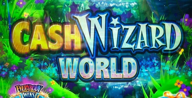 Cash Wizard World by Scientific Games logo