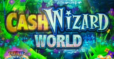 Cash Wizard World by Scientific Games logo