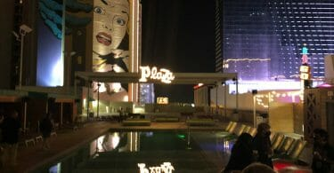 Plaza Las Vegas pool area