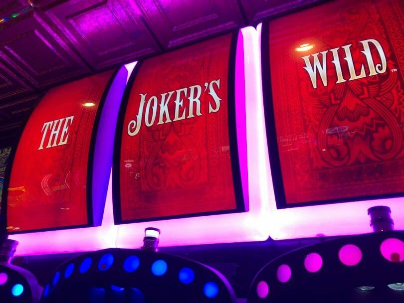 Snoop Dogg Presents The Joker's Wild by Everi top display