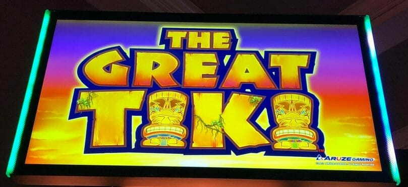 The Great Tiki by Aruze top box