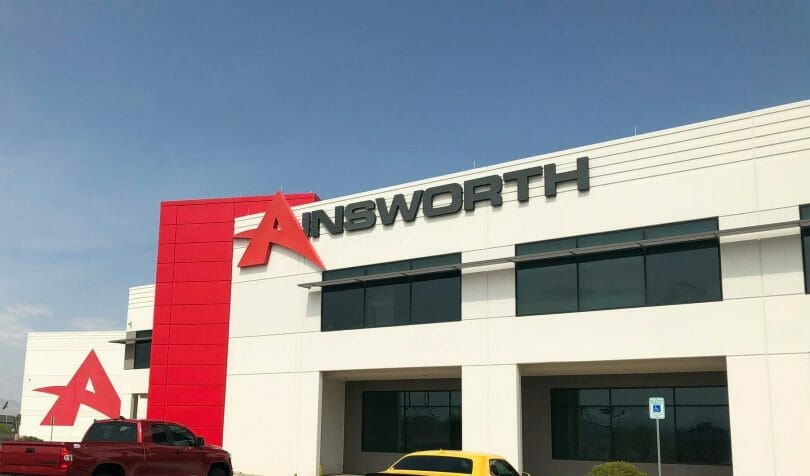 Ainsworth complex external shot