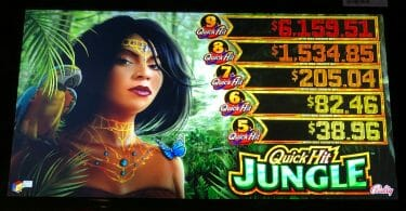 Quick Hit Jungle by Bally progressives