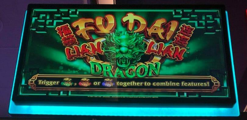 Fu Dai Lian Lian Dragon by Aristocrat top box