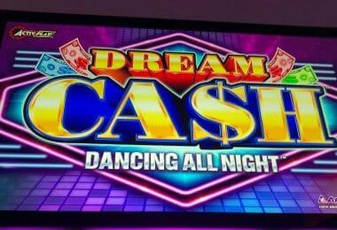 Dream Cash by Aruze top box