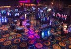 Ocean Casino Resort casino floor overhead