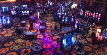 Ocean Casino Resort casino floor overhead