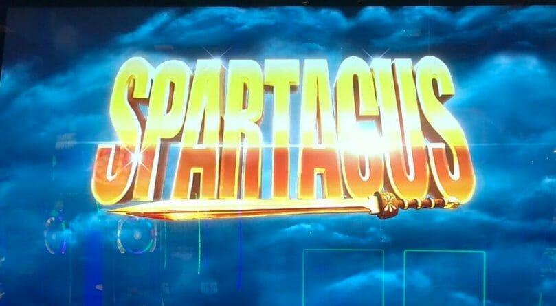 Spartacus by Scientific Games top box