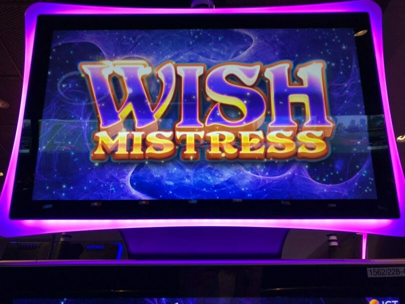 Wish Mistress by IGT top box