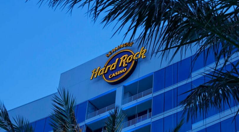 Seminole Hard Rock Tampa external logo